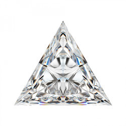Triangle Cut Moissanite Solitaire G-H Color