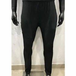 Men Black Track Pants