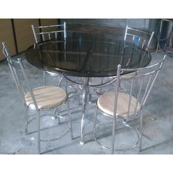 Eureka Stainless Steel Center Table
