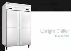 Silver Direct Cool Four Door Chiller Freezer, Model Name/Number: HFW147, Capacity: 1200