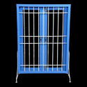 Horizontal And Vertical Bar Steel Window