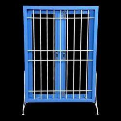Horizontal and Vertical Bar Steel Window