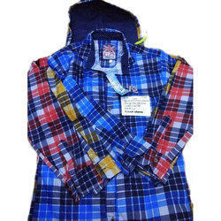 Mens Cotton Check Shirt, Size: M, L & XL