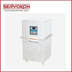Single Variac Type Servo Stabilizer - Oil Cooled