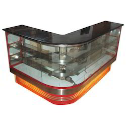 L-Shape Display Counter