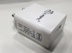 White Travel 5V 2AMP Mobile Charger, for Mobile Charging