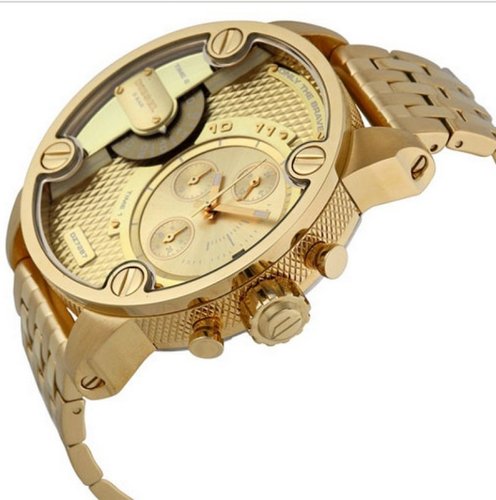 762ba5450 Diesel Mens Fashion Rose Gold Case Leather Watch (DZ7287) at Rs ...