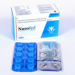 Paracetamol Phenylephirine Hydrochloride Caffeine & Diphenhy