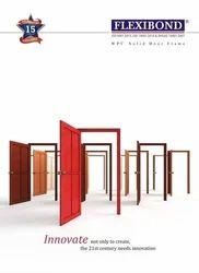 PVC Flexibond WPC Door