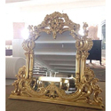 Golden Antique Mirror Frames