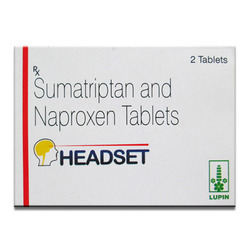 Headset Sumatriptan And Naproxen Tablets