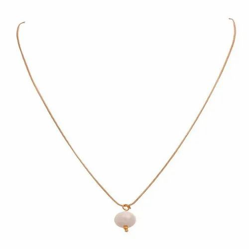 d7ca73cec43 Ankur Royal Gold Plated White Beads Pendant Chain For Women