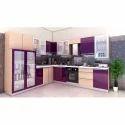 L Shape Home Modular Kitchen