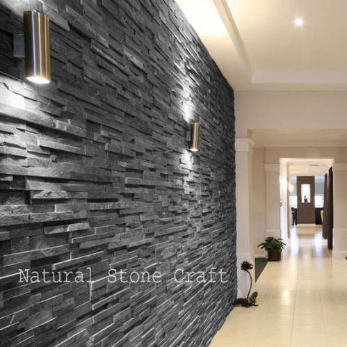 Heat Resistant Interior Stone Wall Cladding Tiles Rs 83