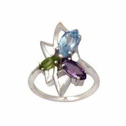 Marquise Gemstone Ring