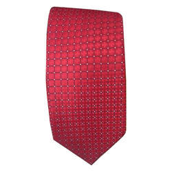 Mens Red Tie