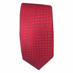 Mens Red Tie