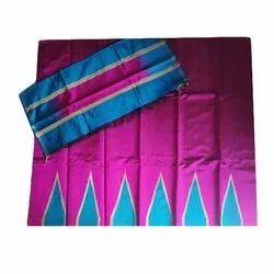 Straight Ladies Designer Silk Suit