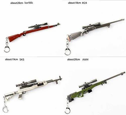 Pubg Metal Keychains