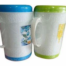 White , Blue Plastic Water Jugs, Size: 2 Litre