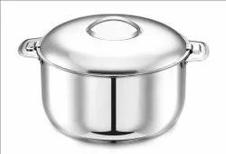 Stainless Steel Orchid Plain Hot Pot