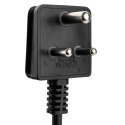 Power Cord 6a 250v Ac Avb In 1.5,2,2.5,3mtr MCE-4/B