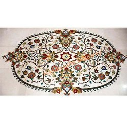 Decorative Marble Inlaid Flooring