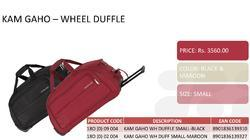 Duffel Bags And Trolley