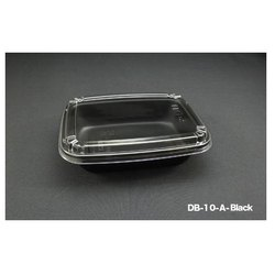 DB-10-A-Black Plastic Container