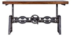 DIF-1407 Cast Iron Adjustable Dining Table