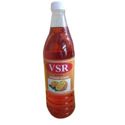 VSR Synthetic Orange Syrup, 700 Ml Per Bottle, Packaging Type: Carton