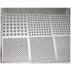 Stainless Steel Perforated Designs Sheet