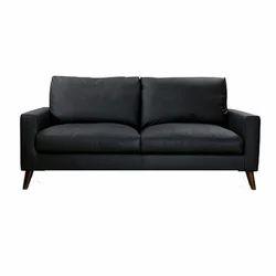 Rectangular Modern Morley Leather Sofa