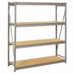 7 Feet Mild Steel Slotted Angle Office Rack