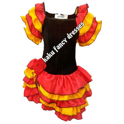 8f276efcf4 Girls And Boys Kids Salsa Girl Costume