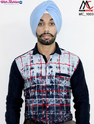 Man Cruise Printed Navy Blue And Red Checked Casual Shirt