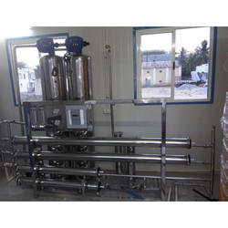 SS 316 Mineral Water Treatment Plant
