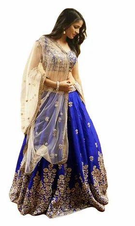 e347b1f3e1 Party Wear Banglori_Silk Designer New Arrival Lehenga Choli, Rs ...