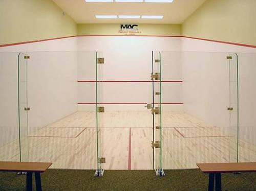 Squash Court Glass Back Wall Manufacturer from Mumbai