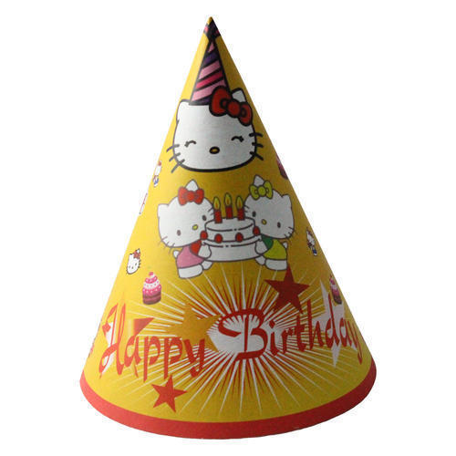 Birthday Cap At Rs 15 Piece