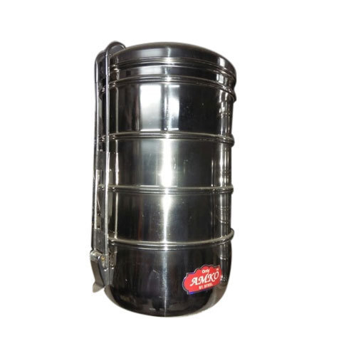 cc6bfc05674 Amko Steel Tiffin Box