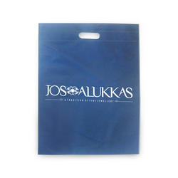 Non Woven Blue Printed Carry Bag