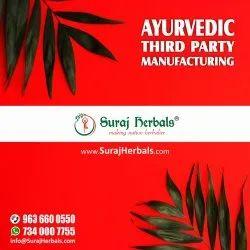 Ayurvedic 3rd Party Manufacturing