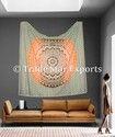 King Mandala Tapestry Wall Hanging