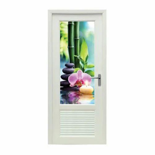 Seaoux Designer Glass Pvc Bedroom Door Interior Rs 8000 Piece