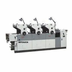 Offset Printing Machine Three Color
