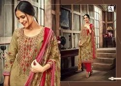 Alok Suits Aasfa  Fancy Salwar Suits