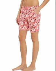 Jockey Pink Peach Blossom Knit Sleep Shorts