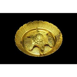 Brass Tortoise Thali