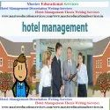 Hotel Management Dissertation Writing Services In India